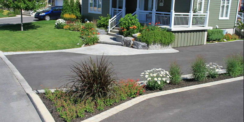L'aménagement paysager extérieur